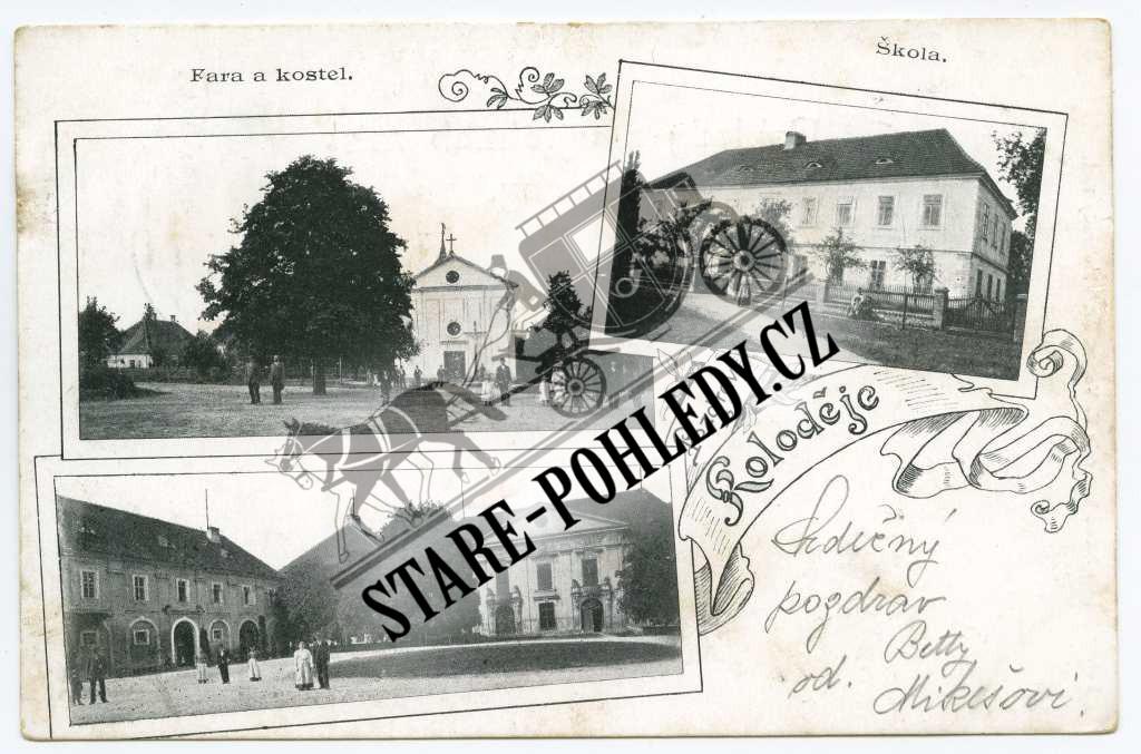 Koloděje - Staré-pohledy.cz 49ef7e9730